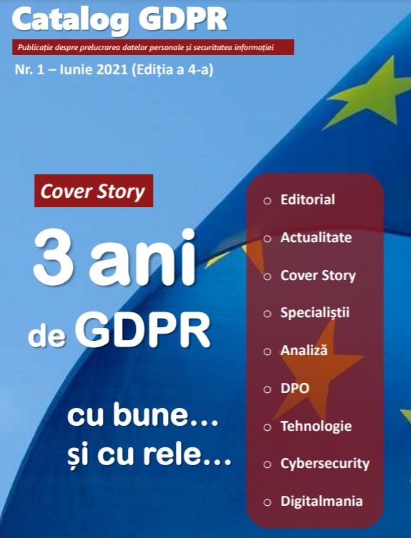 GDPR Catalog frontpage