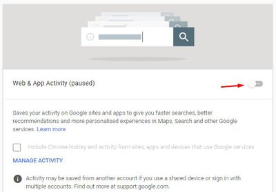 Disable google tracking  step 3
